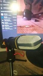 Microfone Condensador Profissional SP-666