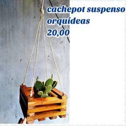 Cachepot suspenso