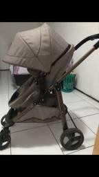 Título do anúncio: Carrinho e bebê conforto galzerano