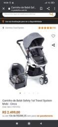Título do anúncio: Carrinho de bebê safety