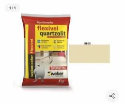 Rejunte Flexivel Quartzolit Bege