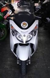 Título do anúncio: Moto Burgman 400 Branca 2012