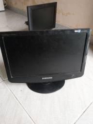 Tela Monitor Samsung 632Nw, LCD 15.6 polegadas Widescreen,Bivolt, ACEITO TROCAS