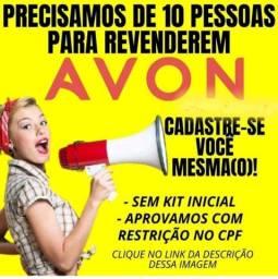 Venha se tornar uma representante Avon faça vc mesmo o cadstro