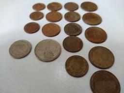 Conjunto 18 moedas antigas Alemanha