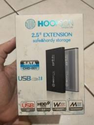 """Case Hoopson Para HD 2,5"""" Preta - CHD-001"""
