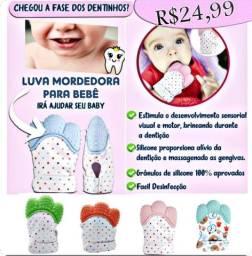 Chupeta Criança / Luva silicone para (BEBÊ) Mordedor
