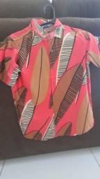 Camisa Floral/Estampada P