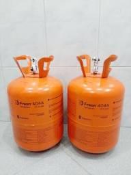 Título do anúncio: Gás Freon R404a 10,900kg