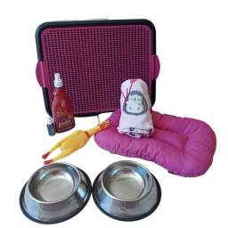 Kit Luxo Para Cães Completo Tam P