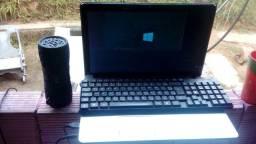 Acer Windows 10 e uma caixinha via Bluetooth e auxiliar