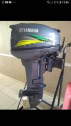 Yamaha ano 2018 15 HP motor de popa