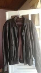Título do anúncio: Jaqueta couro marrom