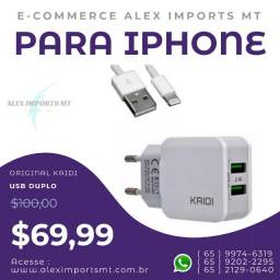 Carregadores Rapido Kaidi Kd-301a 2.4a iPhone wk