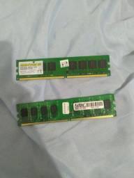 Memoria ram DDR2. 2 pentes de 2