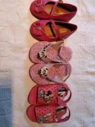 Sapatilha, chinelo e sandalia