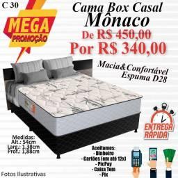 Título do anúncio: CAMA BOX MÔNACO (CASAL)