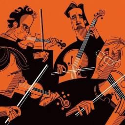 Primeira Aula Gratuita-Aulas de Violino e Violão