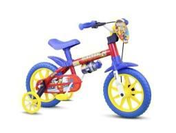 Título do anúncio: Bicicleta Infantil Nathor Aro 12 Fire Man 2-5 Anos - Nova