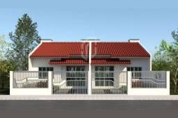 JD514 - Casa Geminada com amplo espaço de terreno livre nos fundos em Penha/SC
