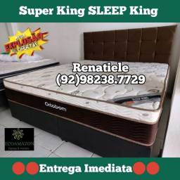 Título do anúncio: Super king sleep king // A pronta entrega