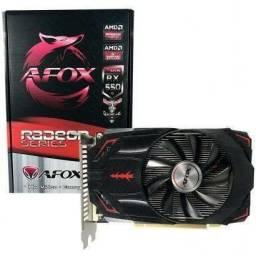Placa de vídeo RX 550 - 2GB AFOX