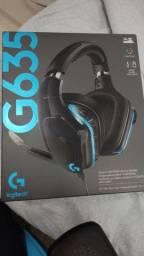 Headset Logitech G635