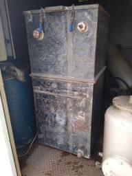 Título do anúncio: Caixa separadora de água e óleo csao em aço 1000 l/h vertical