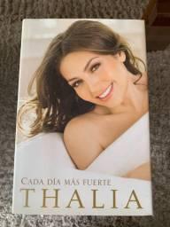 Livro Thalia - Cada día más fuerte