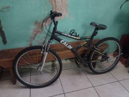 Título do anúncio: Bicicleta semi nova aro 26 pneus novos