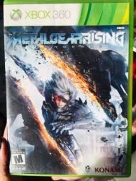 Título do anúncio: MetalGearRising Revengeance Original - Xbox 360