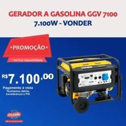 Título do anúncio: Gerador à Gasolina 7100W GGV 7100 110/220V Vonder ? Entrega grátis
