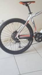 Bicicleta mosso minerva com suspensão f1 rst e kit Shimano alívio 27v