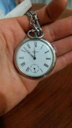 Vendo relógio Techno de bolso de corda original!!