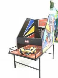 Maquina de basquete eletrônica brinquedo ideal para restaurantes e buffet