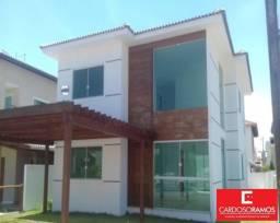 Casa de condomínio à venda com 4 dormitórios em Jauá, Camaçari cod:CA00395