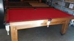 Mesas de Bilhar 2.20 por 1.20 / pebolim em madeira maciça