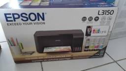 Impressora epson l3150 tanque de tinta , Wi-Fi colorida, usb
