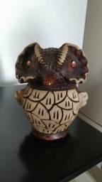 Coruja ceramica