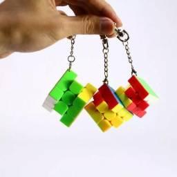 Mini Cubo Mágico profissionais Chaveiros (novos)