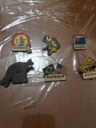 Pins do Outback para colecionadores
