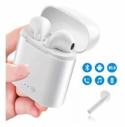 Fone de ouvido Bluetooth recarregável