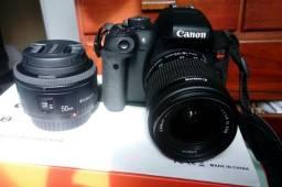 Canon T6i   2 lentes   Steadycam   Bolsa