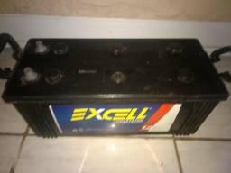 Bateria excell 150 amperes +voltímetro Taramps