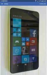 Lumia 640xl telão de 5,7 semi novo sem marcas 400