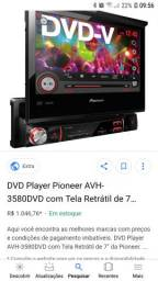 DVD Retrátil usado só Pega e usar