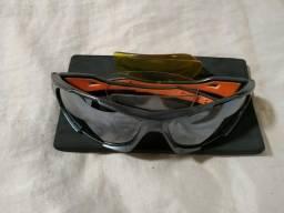 Óculos para ciclistas perfeito com 3 lentes fef709d1ca