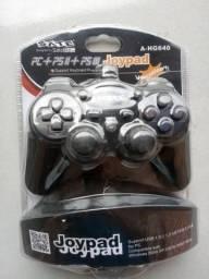 Controle joypad pc ps2 e ps3