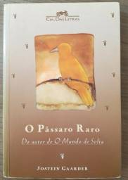 """Livro """"O Pássaro Raro"""" de Jostein Gaader"""