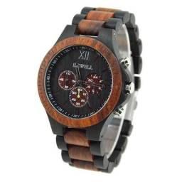 Vendo Relógio Bewell feito de madeira